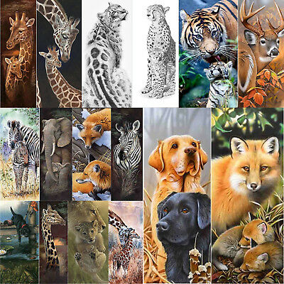 5D DIY Full Drill Diamond Painting Animal Cross Stitch Embroidery Kit Wall Art