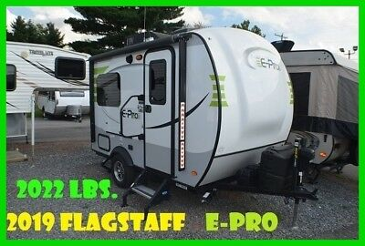 2019 Forest River Flagstaff E-Pro 14FK Used LIKE NEW