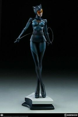 Catwoman Stanley Artgerm Lau Artist Series Statue By Sideshow Collectibles Dc