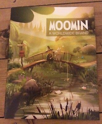 Moomin promotional booklet, 2018 new