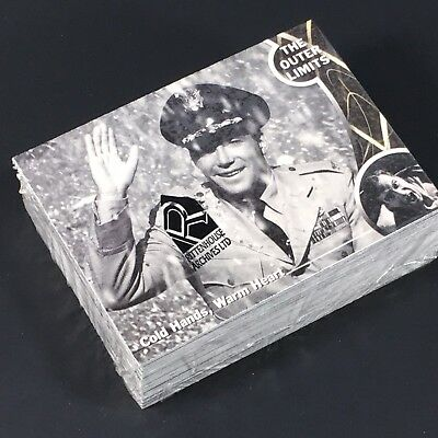 The Outer Limits Premiere Edition Complete 72 Card Base Set- sealed