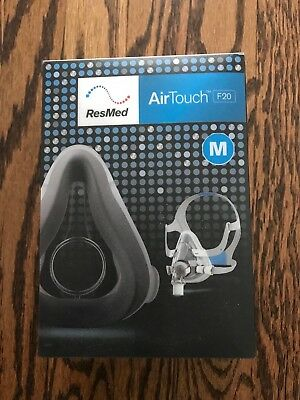 NEW ResMed Airfit/ Airtouch F20 Med Cushion and Headgear 63001