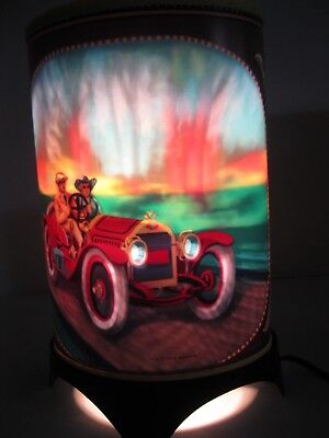 Motion Lamp Visual Effects Vintage Cars Ford Model T Stutz Bearcat W/box