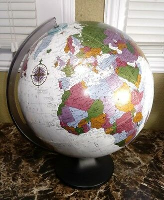 "Replogle 12"" World Globe Platinum Classic Series Raised Relief"