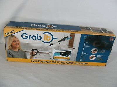 Grab It AS SEEN ON TV Tools That Grabs Where You Cant Reach LED Light