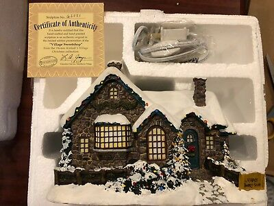 Hawthorne Village Thomas Kinkade Village Christmas Collection Village Sweet Shop