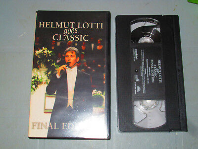 Helmut Lotti - Goes Classic Final Edition (VHS)  Tested