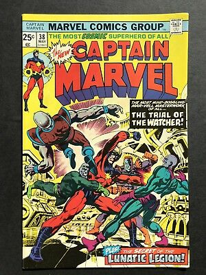 Captain Marvel 38-Avengers Hulk Thor Iron Man Ant-Man-HIGH GRADE! SEE MY STORE