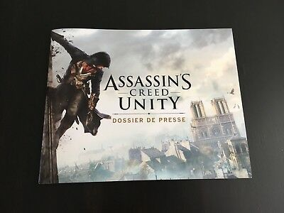 Assassin's Creed Unity Press Kit / Dossier de Presse