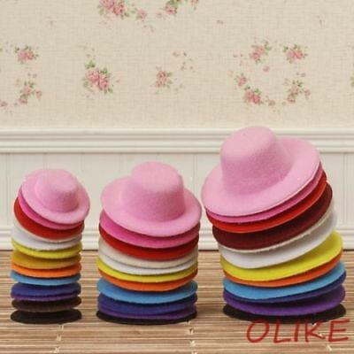 1 pcs White  Hat for 1/12 BJD LATI W AZONE LICCA OB doll