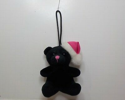 Victoria's secret Teddy bear christmas ornament plush