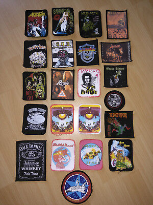 90 Heavy Metal Patches