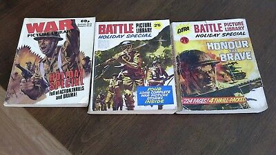2 X Battle And 1 X War Picture Library Holiday Specials