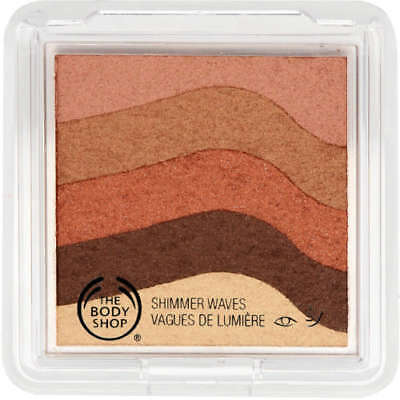 The Body Shop Shimmer Waves 8.5g - 01 Bronze-FREE WORLDWIDE  SHIPPING !!!