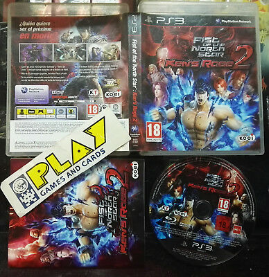 Fist Of The North Star Ken's Rage 2 Pal España Completo Sony Playstation 3 Ps3