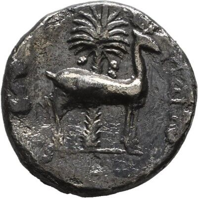 Lanz Phoenicia Arados Drachm Bee Stag Palm Tree Silver Greek §mbr2574