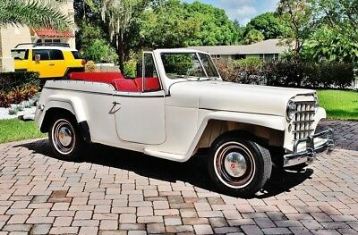 1950 Willys Jeepster Amazing 1950 Willys Jeepster 134cid Engine with Recent Rebuild, New Top, 3 speed