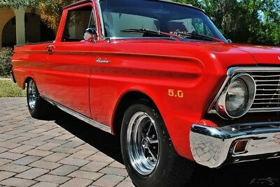 1965 Ford Ranchero Absolutely Gorgeous Restomod 5.0 HO 5-Speed 1965 Ford Ranchero with Custom Bucket Seat, Front Disc Brakes, Power Steering,