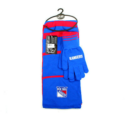New York Rangers Scarf and Glove Gift Set