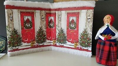 Backdrop Accessory for Byers Choice Carolers Christmas Decorations
