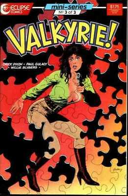 Valkyrie (1987 series) #3 in Very Fine minus condition. Eclipse comics