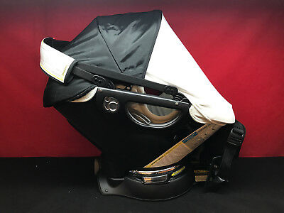 Orbit Baby G3 Infant Car Seat BASE Black With White Sunshade