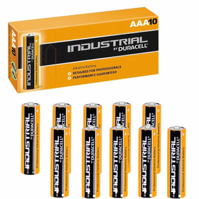 20x Duracell AAA Industrial Procell Alkaline batteries LR03 2400 - Pack of 10x2