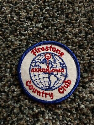 FIRESTONE COUNTRY CLUB Golf Patch Akron Ohio Oh