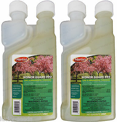 Honor Guard PPZ Turf and Ornamental Broad Spectrum Fungicide - 1 Pint - (2 Pack)