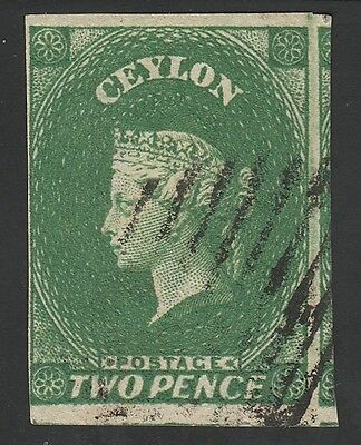 Kappysstamps Ks1967 Ceylon Scott# 38 Used Retail  $150