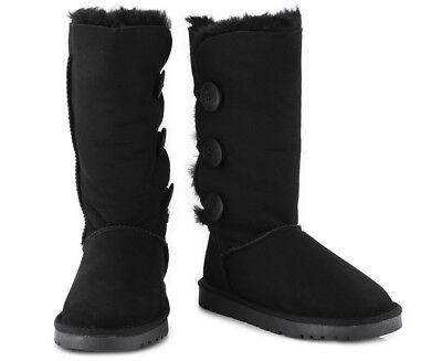 OZWEAR Connection Classic 3 Button Long Boot - Black