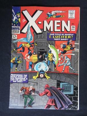 X-Men #20 MARVEL 1966 - HIGHER GRADE - Lucifer app - Iceman, Beast, Angel!!!