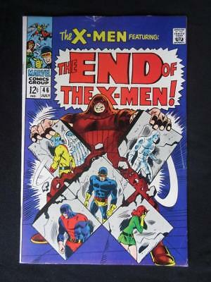 X-Men #46 MARVEL 1968 - HIGHER GRADE - Juggernaut app - Cyclops, Beast!!!