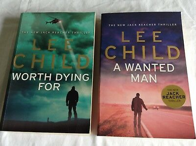 2 Lee Child - Worth Dying For & A Wanted Man