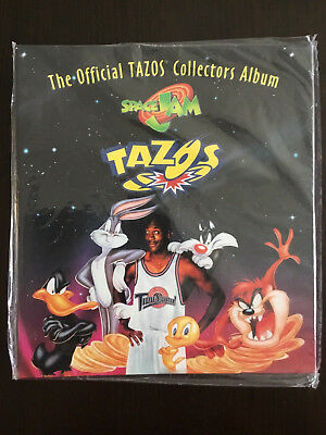 Space Jam Tazo Collectors Album New In Packaging