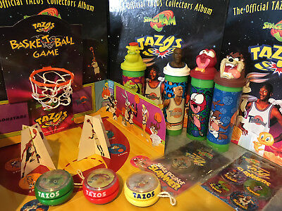 Space Jam Tazo Collectors Basketball Game New In Packaging