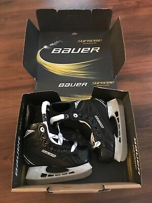 Boys Hockey Skate Bauer Supreme S140 Youth Toddler Size 9 (Y9R)
