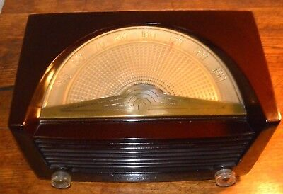 Antique Philco Radio Model 50-922 - Beautiful Case and Dial - Hums But No Music