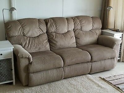 Lancer Dual Reclining Fabric Sofa