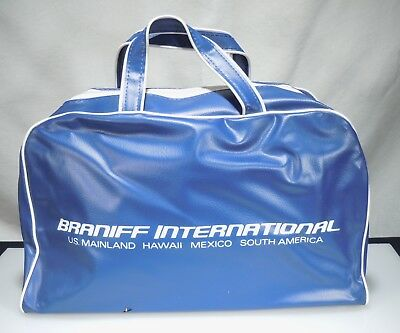 Vintage Braniff Airlines Travel Tote Bag                       53819