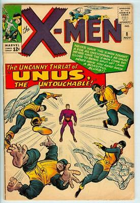 X-men #8 - 1st Appearance of Unus - 4.5 Very Good+