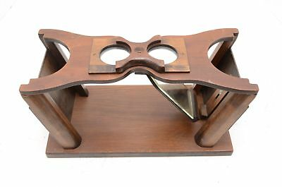Antique Cheiroscope Wood Optical Medical Device Ophthalmology optometry exam vtg