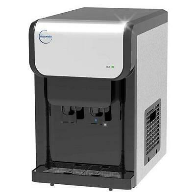 Waterworks Australia -Plumbed in Benchtop Water Cooler- Ambient + Chilled Wat...