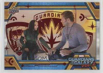 2017 Upper Deck Guardians of the Galaxy Volume 2 Red/49 #35 The Empath Card 0ad