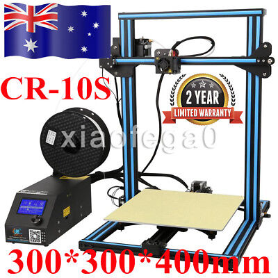 Upgraded CR-10S Creality DIY Print 3D Printer With Dual Z Axis 300*300*400mm AU