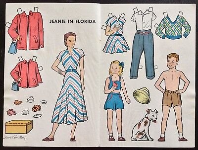 1948, Jeanie in Florida, Jeanie Serie Puppe, Jack an Jill Mag