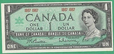 ~1967 CANADIAN 1 DOLLAR BILL~ Special Centential Issue~ Uncirculated