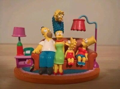 The Simpsons COUCH CLASSIC Hamilton Figurine Couch Gags Collection Homer Marge