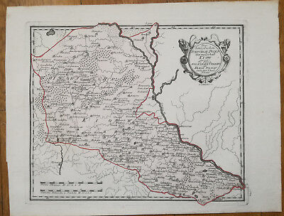 Reilly Original Engraved Folio Map Kiev Ukraine - 1789