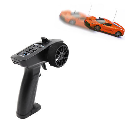 2.4GHz 3CH Digital Radio Remote Control Transmitter Receiver for RC Boat Newly